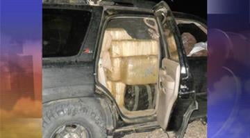 Maricopa County sheriff's deputies seized nearly 2,000 pounds of marijuana and recovered two stolen vehicles near Gila Bend. By Jennifer Thomas