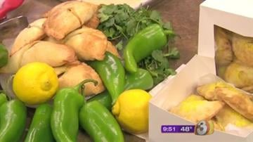 Green chile pork hand pies by Chef Eddie Castillo of AZ Food Crafters By Content Creator