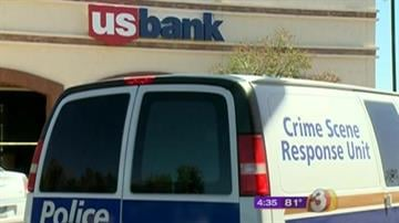 Investigators are searching for a man who robbed this U.S. Bank on Bell Road and 7th Street in Phoenix. By Mike Gertzman