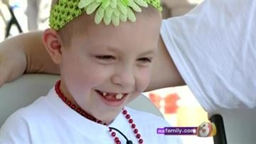 8-year-old Dakota Clark was diagnosed with Burkitt's Lymphoma (Stage 3), a rare form of cancer. By Content Creator