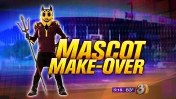 After weeks of backlash from students and alumni who dislike the new design of the school's costumed mascot, Arizona State University officials are going back to the drawing board. By Mike Gertzman