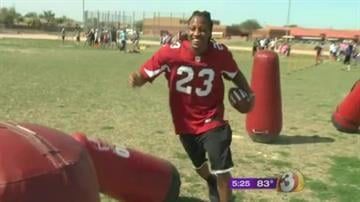 Jamell Fleming at Greenfield Junior High in Gilbert By Jennifer Thomas