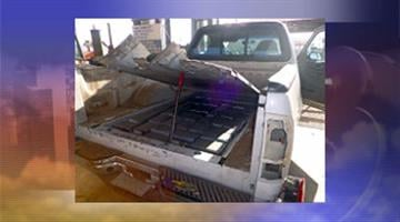 More than 150 pounds of drugs were found inside a pickup truck. By Jennifer Thomas