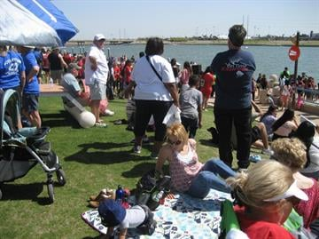 The 2013 Arizona Dragon Boat Festival is celebrating 10 years at Tempe Town Lake. By Andrew Michalscheck