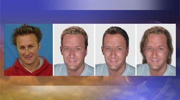Age-enhanced photos of Jason Derek Brown By Jennifer Thomas