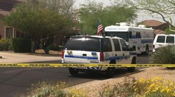 Scottsdale police are investigating a reported homicide near Thompson Peak Parkway and Bell Road. By Jennifer Thomas
