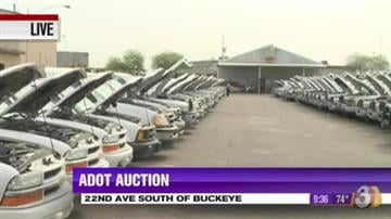 If you're in the market for a used car, pickup truck, or even something unusual like a snowplow or dump truck, you won't want to miss the Arizona Department of Transportation's annual spring auction this Saturday, April 6 in Phoenix. By Tami Hoey