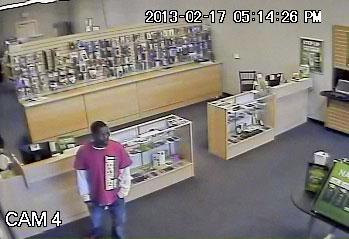 Surveillance image of suspect No. 2 By Jennifer Thomas