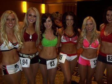 2013 Cardinals Cheerleading Auditions at the Arizona Biltmore Resort in Phoenix. By Andrew Michalscheck