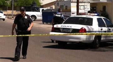Police responded to a report of a man who was dragged out of a Chandler apartment Monday morning. By Jennifer Thomas