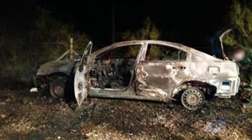 Three people trapped in the trunk of a burning vehicle were rescued by Tucson Sector Border Patrol agents. By Jennifer Thomas