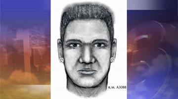 Phoenix police released this sketch of the sexual assault suspect. By Jennifer Thomas