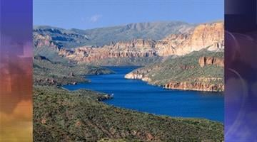 Apache Lake By Andrew Michalscheck
