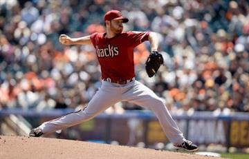 SAN FRANCISCO, CA - APRIL 24:  Ian Kennedy #31 of the Arizona Diamondbacks pitches against the San Francisco Giants in the fourth inning at AT&T Park on April 24, 2013 in San Francisco, California.  (Photo by Ezra Shaw/Getty Images) By Ezra Shaw
