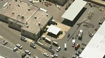 A man who was welding at a Glendale business was shocked and thrown from the roof. By Jennifer Thomas