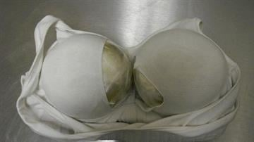 Heroin concealed in bra By Jennifer Thomas
