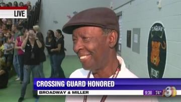 Willis Washington was honored today as AAA Arizona's 2013 Crossing Guard of the Year after hundreds of nominations poured in for the man who has impacted so many at Steven R. Jasinski Elementary School in Buckeye. By Content Creator