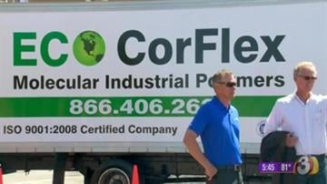 "According to Eco-CorFlex, Hydro Poly can seal any surface including, ""exposed aggregate, concrete, flagstone, paver stone, wood, decorative or stamped concrete, painted surfaces, asphalt, and sealed & coated surfaces."" By Content Creator"
