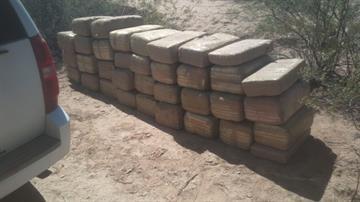 The West Desert Task Force seized 780 pounds of marijuana. By Jennifer Thomas
