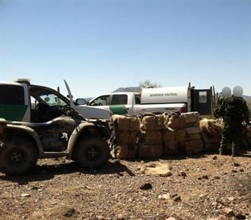 The West Desert Task Force seized 954 pounds of marijuana. By Jennifer Thomas