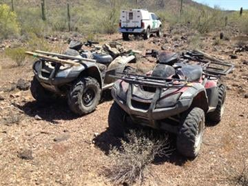 Two ATVs seized by the West Desert Task Force By Jennifer Thomas