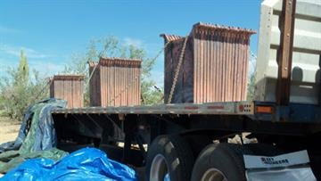 Stolen copper at Tangerine Ranch By Jennifer Thomas