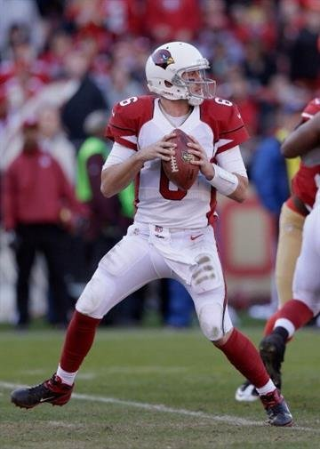 SAN FRANCISCO, CA - DECEMBER 30:  Brian Hoyer #6 of the Arizona Cardinals in action against the San Francisco 49ers at Candlestick Park on December 30, 2012 in San Francisco, California.  (Photo by Ezra Shaw/Getty Images) By Ezra Shaw