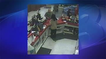 Surveillance photo from May 11 grocery store robbery near Peoria and 67th avenues By Jennifer Thomas