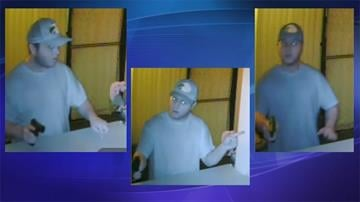 Photos of suspect in armed robbery at AG Massage By Jennifer Thomas