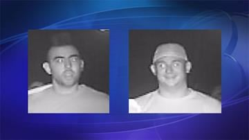National Park Service law enforcement rangers are asking for the public's help to identify two persons of interest who are believed to have knowledge of the vandalism. By Jennifer Thomas