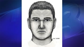 Sketch of sexual assault suspect By Jennifer Thomas