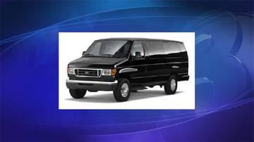 Picture of vehicle similar to van driven by suspect By Jennifer Thomas