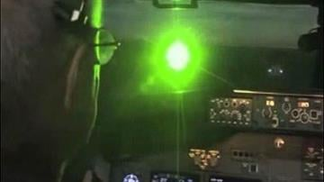 What appears as a dot of light on the ground can illuminate an entire cockpit, disorienting a pilot or causing temporary blindness. By Catherine Holland