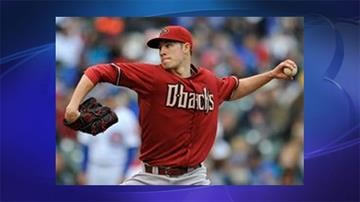 Arizona Diamondbacks starter Patrick Corbin delivers a pitch during the first inning of a baseball game against the Chicago Cubs in Chicago, Sunday, June 2, 2013.