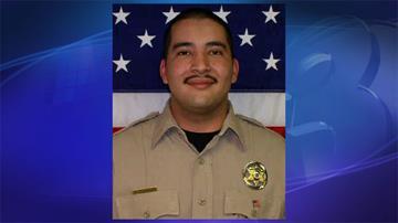 Officer Mario Serrano By Jennifer Thomas