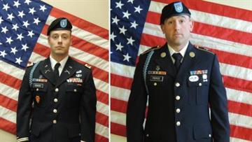 Left, Justin Lee Sisson, 23; right, Robert Allan Pierce, 20.