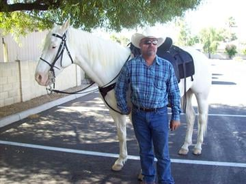 Silver and horse trainer Bobby Lovgren By Mike Gertzman