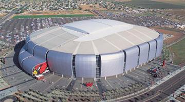 University of Phoenix Stadium By Catherine Holland