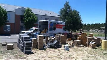 Items stolen from train recovered in Williams, Ariz. By Jennifer Thomas