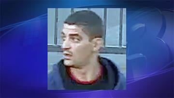 Surveillance photo of a suspect in two vehicle burglaries By Jennifer Thomas