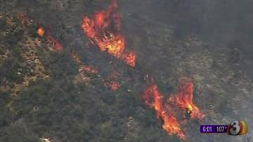 Yarnell Fire By Jennifer Thomas