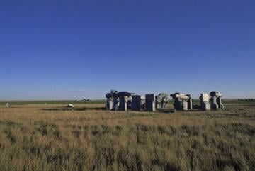 Nebraska, Alliance, Carhenge, Designed In 1987 By Reinders Family. (Photo by Education Images/UIG via Getty Images) By Education Images