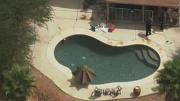 A 7-year-old boy was found at the bottom of a pool near 60th Street and Bell Road in Phoenix. By Jennifer Thomas