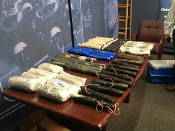 Arizona Department of Public Safety detectives seized more than 60 pounds of heroin from three West Valley homes. By Jennifer Thomas