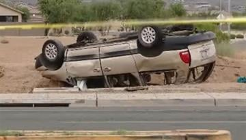 Collision at Baseline Road and 27th Avenue in Phoenix By Jennifer Thomas