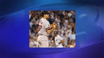 Frank Castillo pitched for the Boston Red Sox in 2002. By Catherine Holland