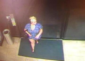 Suspect caught on surveillance video By Jennifer Thomas