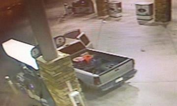 Suspects' vehicle By Jennifer Thomas