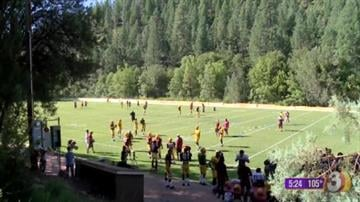 ASU football preseason training at Camp Tontozona By Mike Gertzman