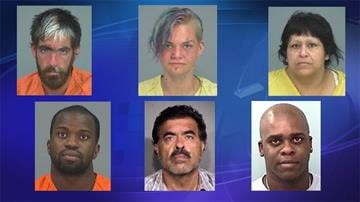 Top row: Nathan Lamb, Elizabeth Kay, Yolanda Banda